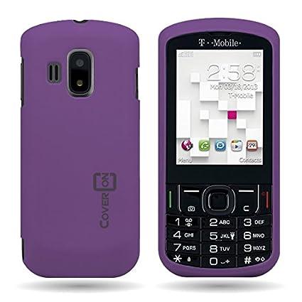 amazon com coveron hard rubberized slim case for alcatel t mobile rh amazon com T-Mobile SPARQ Sim Card T-Mobile Sparq Earhone Part