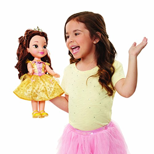 Disney Princess Belle Doll Sing & Shimmer, Sing with Belle!