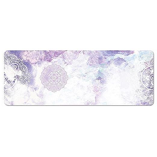 Purplert 183x68cm Gamuza Yoga Mat, Caucho Natural Plegables ...