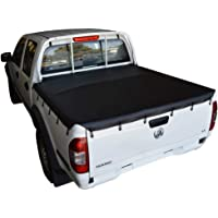 Bunji Ute/Tonneau Cover for Nissan Navara D22 DX 4WD (Nov 2001 to 2005) Dual Cab suits Headboard