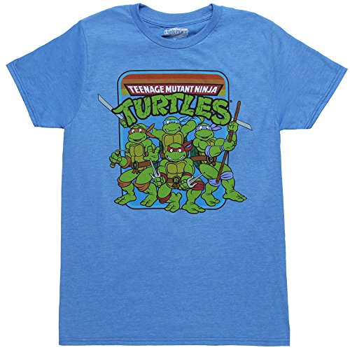 TMNT Teenage Mutant Ninja Turtles Men's Shirt-XX-Large -