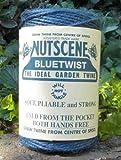 3 Rolls Nutscene Heritage 3-ply Jute Twine: 120m, Blue