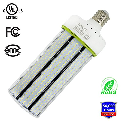 150W LED Corn Light Bulb, Large Mogul Base E39 LED Bulbs, 20250 Lumens (1000W Equivalent), 5000K Daylight, AC100-277V, JESLED Metal Halide Replacement for Outdoor Indoor Area Lighting HID/CFL/HPS