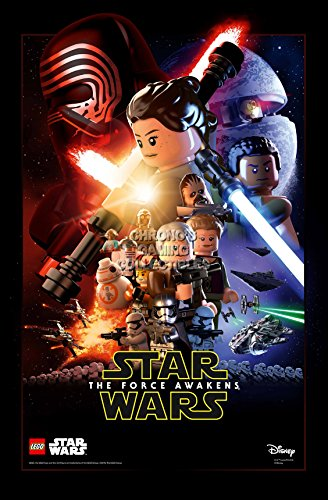 CGC Huge Poster - Lego Star Wars Episode VII The Force Awakens Moive Poster - STWL07 (24
