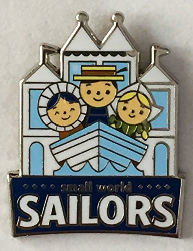 Disney Pin 116186 DLR - Disney Mascots Mystery Pin Pack - Small World Sailors Pin It's a Small World Ride Disneyland Pin