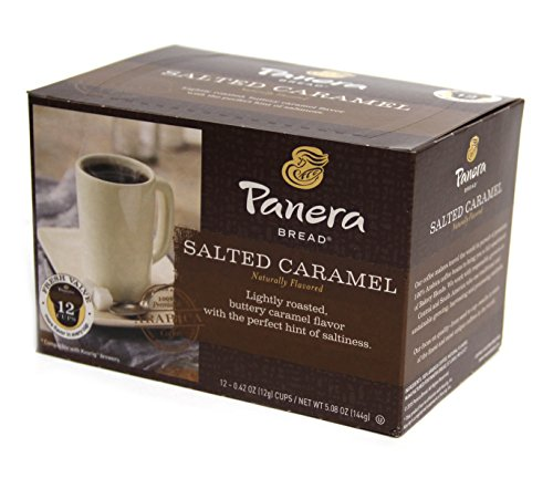 Panera Bread Salted Caramel Single Serve Cup  12 Count  5 08 Oz