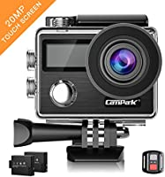 Campark X20 Action Cam 4K Touch Screen Action Camera WIFI, 2