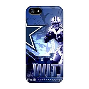 Slim Fit Tpu Protector Shock Absorbent Bumper Dallas Cowboys Case For Iphone 5/5s