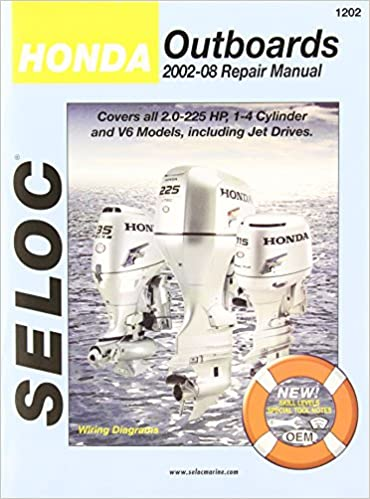Amazon Com Honda Outboard 2002 2008 Repair And Tune Up Manual 0715568012029 By Publisher Books
