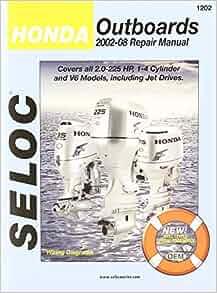 Honda Outboard Engine Repair Manual 2 0 2225 Hp 1 4