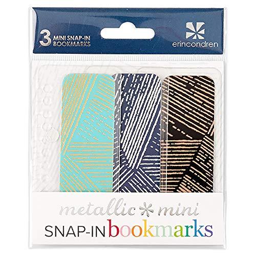 Erin Condren Mini Snap-in Bookmarks Trio for Erin Condren Planners - Woven Wonder