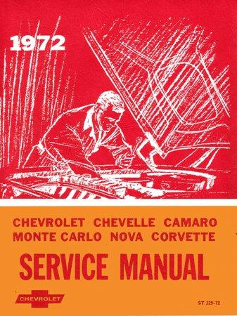 1972 CAMARO CHEVELLE MONTE CARLO NOVA Service (Windy City Classic Cars)