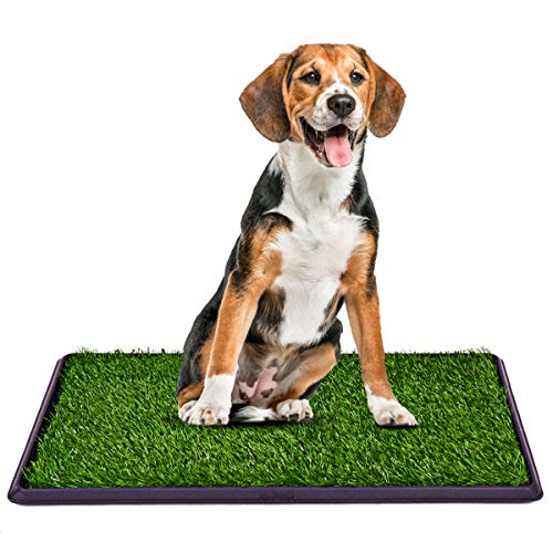 Giantex Puppy Pet Potty Home Training Toilet Pad Grass Surface Dog Pee Mat Turf Patch (30