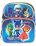 "PJ Masks Backpack 12"" Boys Book bag We're on our way School Backpack"
