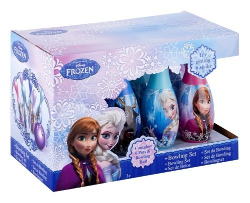 Disney Frozen - Dfr-3017 - Jeu De Plein Air - Set De Bowling - Reine Des Neiges