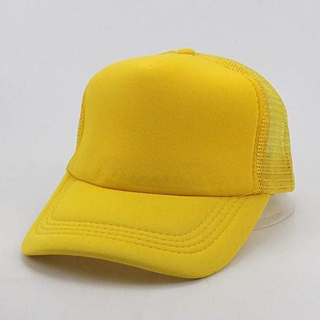 GZTCAP Gorras Rejilla Algodón De Color Sólido Sombreros del ...