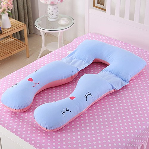 Multifunctional removable pregnant women pillows / nursing lumbar / pregnant women sleeping pillow / U-shaped pillow / nursing pillow ( Color : B ) by Pregnant women pillow