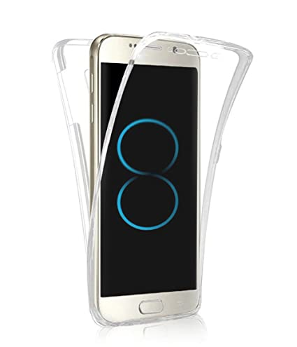 new product da3de 7d89a PHEZEN Galaxy S8 Plus Case, Scratch Proof 360 Front and Back Full Body  Protection Transparent Flexible TPU Bumper Case Anti-Scratch Protective  Case ...