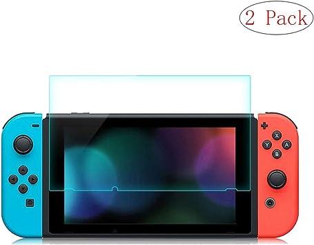 szjckj Cristal Film Templado para Nintendo Switch, [2 Piezas] Premium Dureza 9H Alta Definicion Protector Pantalla Vidrio Proyectar película Protectora: Amazon.es: Electrónica