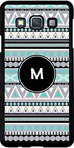 Case for Samsung Galaxy A3 (SM-A300) - Monogram - tribal pattern *M* by ruishername