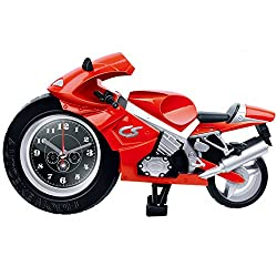 NEW Fashion Design Motorcycle Creative Home Office Desk Alarm Clock Gift