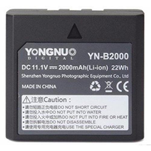 YONGNUO YN-B2000 11.1V 2000mAh Rechargeable Li-Ion Battery for YN686EX-RT TTL Speedlite by YONGNUO