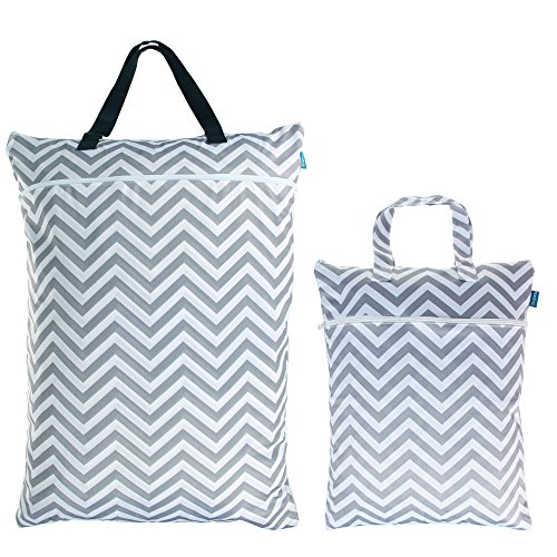 Teamoy Hanging Diapers Organizer Chevron