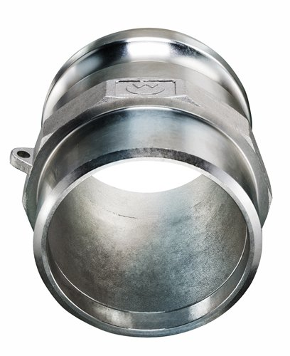 Kuriyama BW-SSF600 Stainless Steel 316 Part F Male Adapter, 6'', 75 PSI