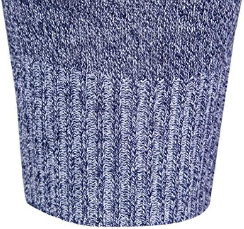 Bluza wslcn męski sweter cienkich okrągłe wycięcie pod szyją jednokolorowy Slim Fit: Odzież