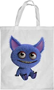 Printed Shopping bag, Large Size, Colorful Monster