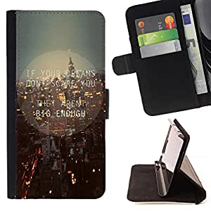 BullDog Case - FOR/Samsung Galaxy S3 III I9300 / - / new york city streets skyline night lights /- Monedero de cuero de la PU Llevar cubierta de la caja con el ID Credit Card Slots Flip funda de cuer