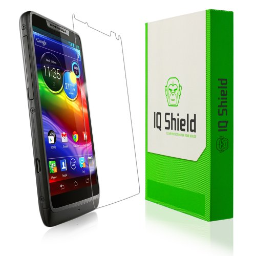 IQ Shield LiQuidSkin - Motorola Luge / Motorola Droid Razr M Screen Protector with Lifetime Replacement Warranty - High Definition (HD) Ultra Clear Smart Film - Premium Protective Screen Guard - Extremely Smooth / Self-Healing / Bubble-Free Shield - Kit comes in Frustration-Free Retail Packaging
