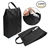 Bagail Travel Shoe Bags Set of 4 Lightweight Waterproof Nylon Storage Bag for Men & Women