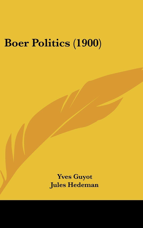 Download Boer Politics (1900) PDF