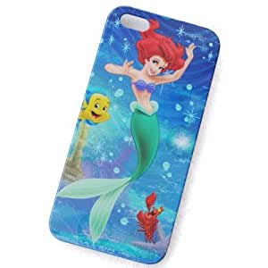 eBayke USPS SHIPPING Little Mermaid Pattern Apple iPhone 5 5G Snap-on Hard Case Back Cover