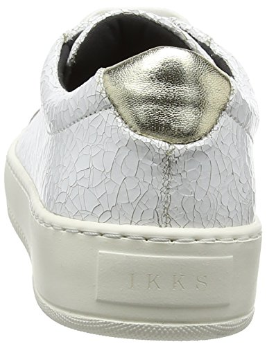 Ikks Sneakers Basse Donna Bianco blanc 01