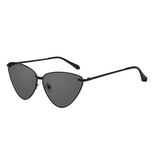 b92382e6c4 Amazon.com  Sunglasses for Women WISH CLUB Retro Tinted Lens Cat Eye  Sunglasses  Clothing