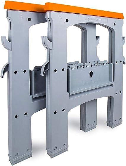 AmazonBasics Folding Sawhorse 900 Pound Capacity