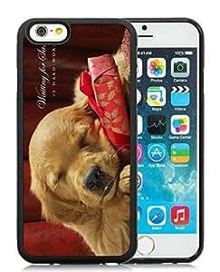 Custom iPhone 6 Case,Christmas Dog Black iPhone 6 4.7 Inch TPU Case 37 by ruishername