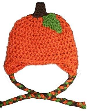 Handmade Pumpkin Beanie / Hat