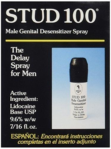 Stud 100 Male Genital Desensitizer Spray - 1 Pack by STUD 100