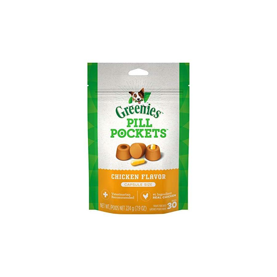 Greenies Dog Pill Pockets Chicken Capsules