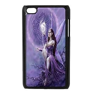 [QiongMai Phone Case] FOR IPod Touch 4th -Elegent Angels-IKAI0447335