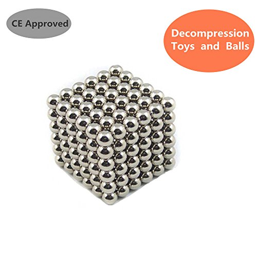 Magnetic Decompression Ball,Dr.Queen Educational Toys for Children,Office decompression toys 5mm,Pack of 216