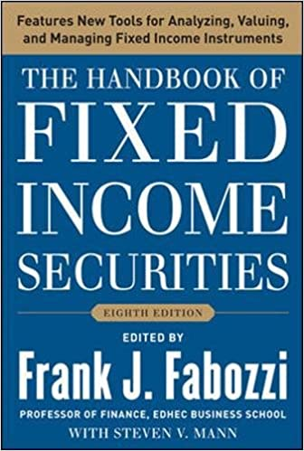 Eighth Edition The Handbook of Fixed Income Securities