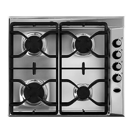 IKEA DÅTID HGA4K - Hornillo de gas, acero inoxidable - 58x50 cm: Amazon.es: Hogar
