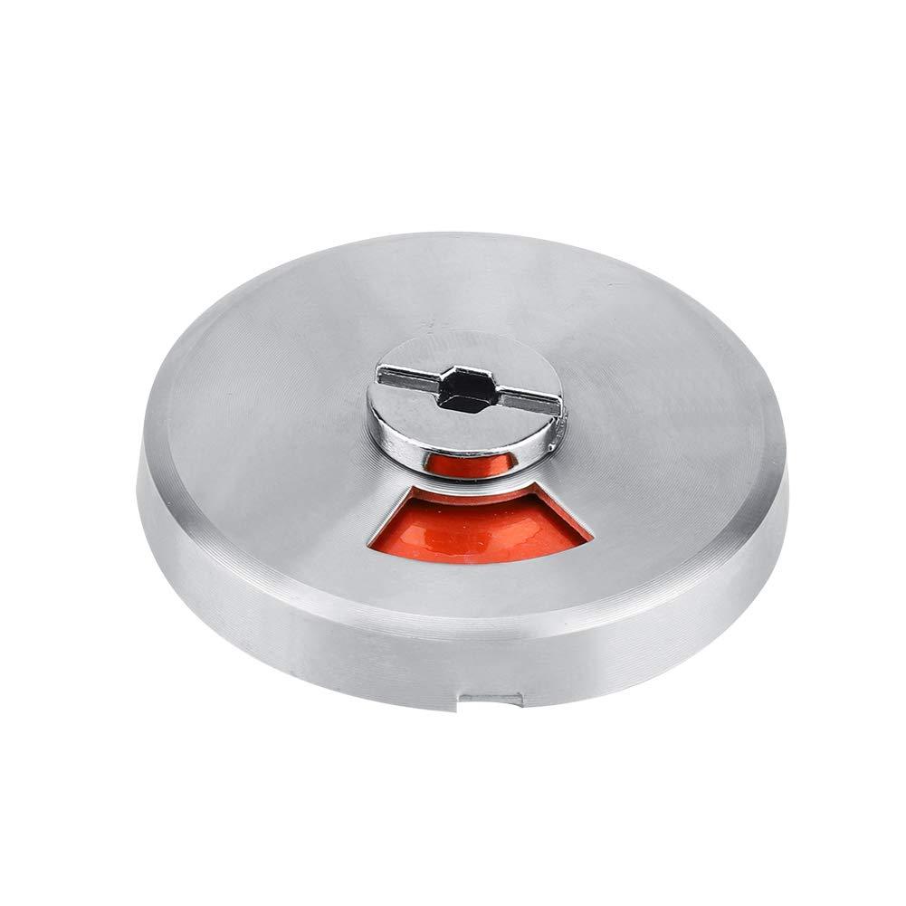 FTVOGUE Inodoro del bañ o Inodoro Inodoro Cerradura de la Puerta con indicador Activado y Ajuste de Tornillo