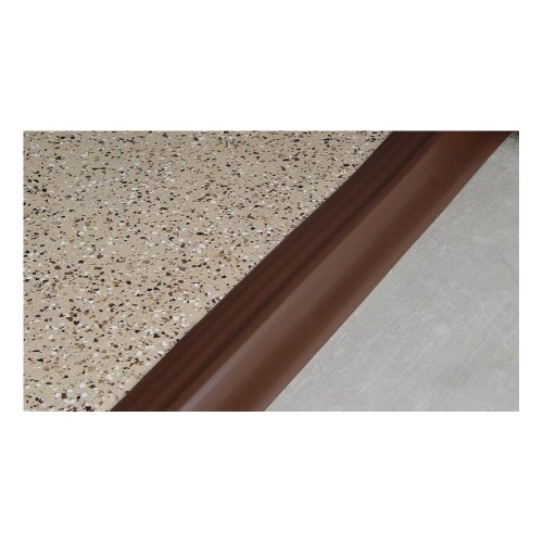 Auto Care Products Inc 52100 100-Feet Tsunami Seal Garage Door Threshold Seal Kit, Brown by Auto Care Products Inc. (Image #1)