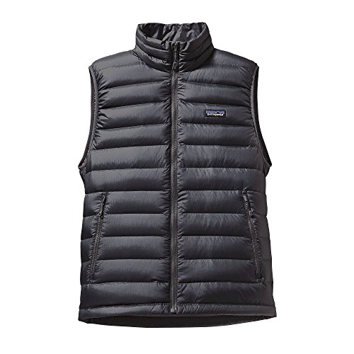 Patagonia Down Mens Vest (Patagonia Men's Down Sweater Vest (Large, Forge Grey w/ Forge Grey))