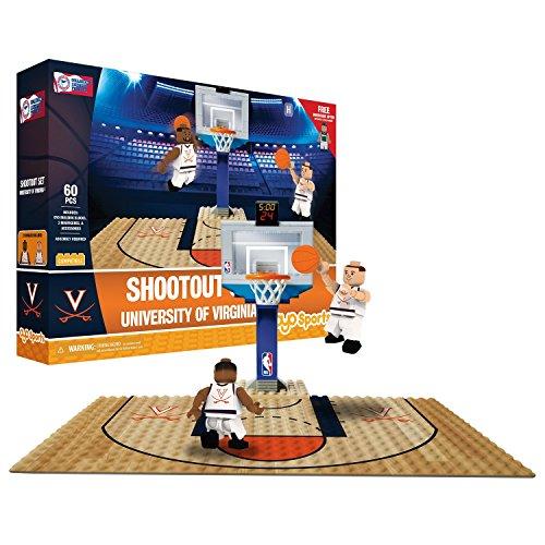 Oyo Sportstoys NCAA Virginia Cavaliers Sports Fan Bobble Head Toy Figures, Orange/Blue, One Size